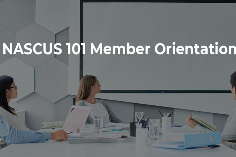 NASCUS 101 Member Orientation Webinar
